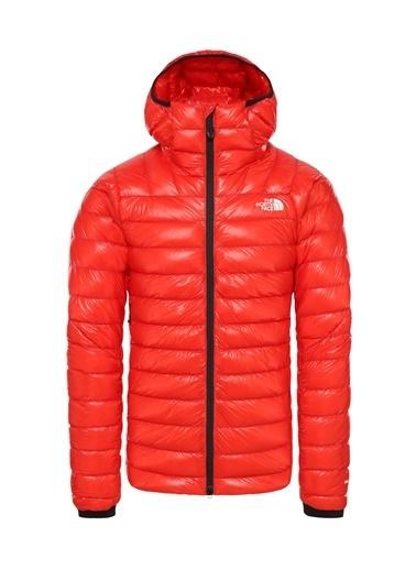 The North Face Summit L3 Down Hoodie Erkek Mont Kırmızı Kırmızı